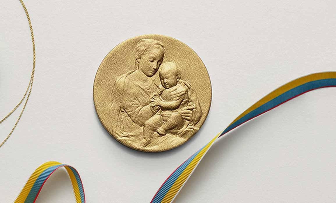 médaille baptême  - ARTHUS BERTRAND