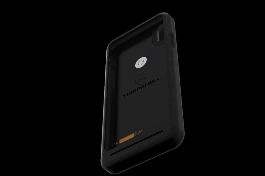 coque de protection de smartphone anti-vol autonome